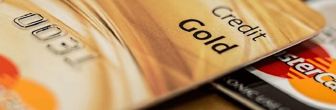 Kreditkarten Banner
