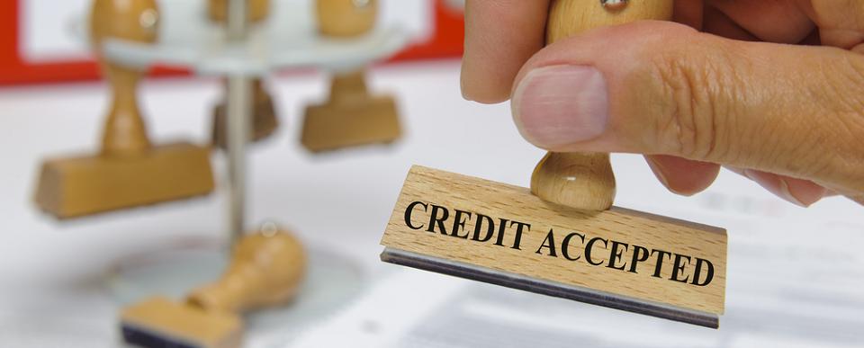 Kredit akzeptiert